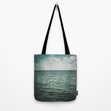 Into The Sea Of Lost Souls  Tote Bag by Faded  Photos