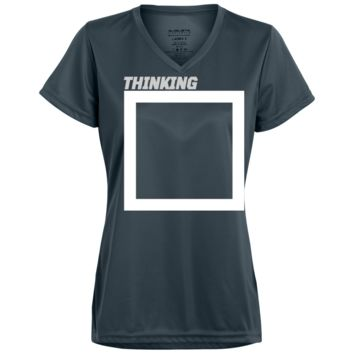 OUTSIDE THE BOX Ladies' Wicking T-Shirt