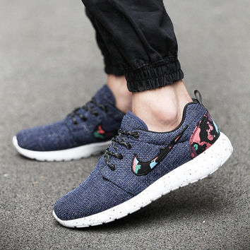Nike Roshe Run Floral Series  (Dark Grey)