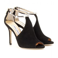 mytheresa.com - Farah suede pumps - Luxury Fashion for Women / Designer clothing, shoes, bags
