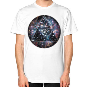 Fibonacci Unisex T-Shirt (on man)