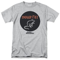 Parks And Recreation Comedy Series Mouse Rat Band Logo Adult T-Shirt Tee