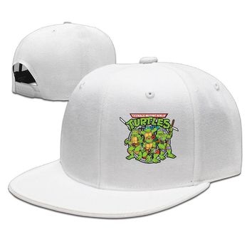 Teenage Mutant Ninja Turtles Raphael Funny Unisex Adult Womens Hip-hop Hats Mens Flat Brim Hats
