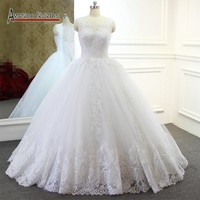 Stunning Lace Wedding Dress New Ball Gown Wedding Dresses