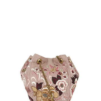 Accessorize | Gabrielle Oriental Duffel Bag | Pink | One Size