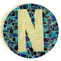 Mosaic Letters, Nursery Wall Hanging