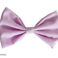 Lavender Hair Bow by craftsbyfrances on Etsy