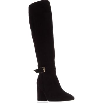 kate spade new york Oralie Knee High Boots, Black, 6 US