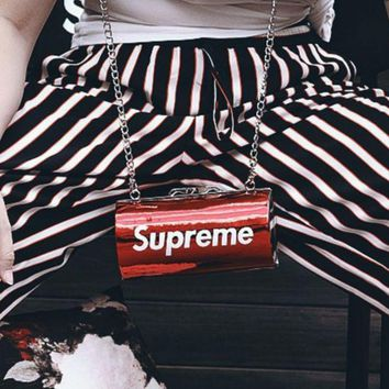 Supreme Women Men Fashion Shoulder Bag Crossbody Wallet Purse