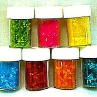 Edible Glitter, Silver, 1/4 oz.