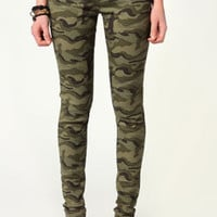 Mindy Military Styled Skinny Jeans