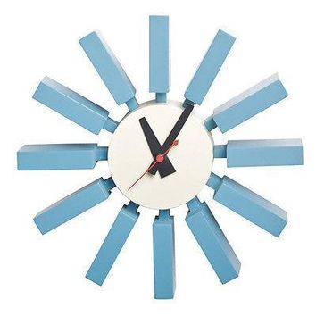 Spoke Clock | Blue