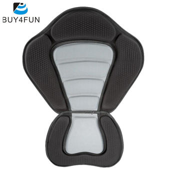 Adjustable Canoe Kayak Backrest Seat Deluxe Padded Kayak Boat Seat Soft and Antiskid Padded Base High Backrest Boat Accessories