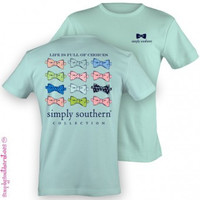 NEW Hot Gift Simply Southern Funny Cute Bow Girlie Bright T Shirt