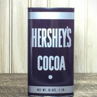 Vintage Hershey's Cocoa Canister/Tin