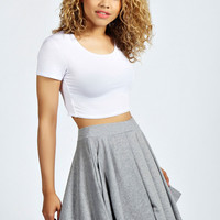 Carey Flippy Jersey Skater Skirt