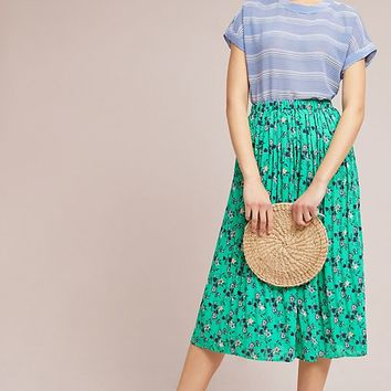 Jade Pleated Skirt