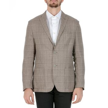 Corneliani Mens Jacket Long Sleeves Beige