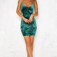 Winona Dress Emerald