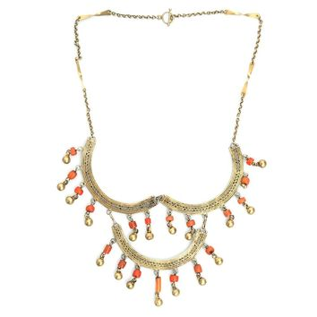 Persian Coral Necklace