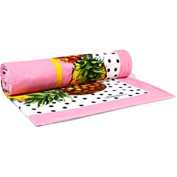 Dolce & Gabbana - Printed cotton-terry towel