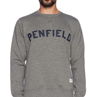 Penfield Brookport Sweatshirt in Gray