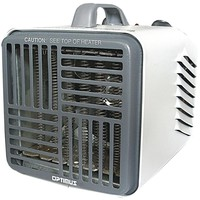 Optimus Mini Compact Utility Heater With Thermostat