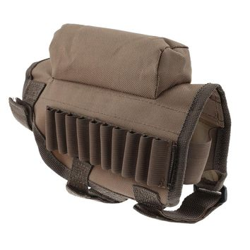Portable Bullet Shell Pouch Hunting Shooting Outdoor Gun Bag Multi-function Tactical Bullets Bags Removable Padded Packages