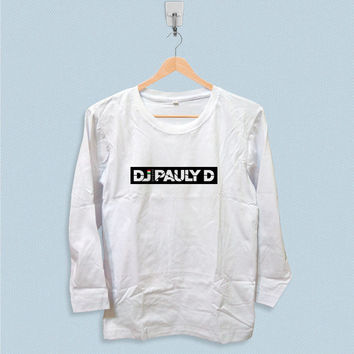 Long Sleeve T-shirt - DJ Pauly D Logo