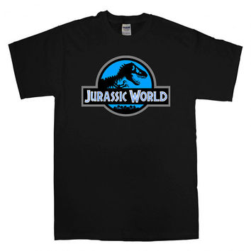 jurassic world logo T-shirt unisex adults