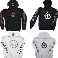 TRAVIS SCOTT WHITE FLAME Hoodie Men New Winter Fashion Streetwear Hip Hop Sweatshirts Men Tops Cotton Fleece Sudaderas Para