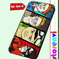 5SOS Superheroes custom case for smartphone case