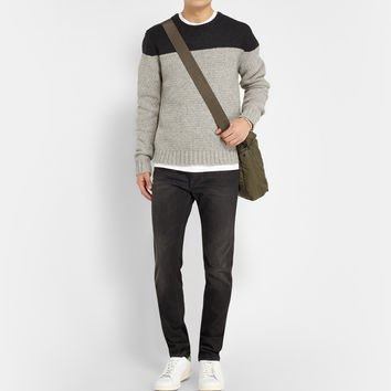Saturdays Surf NYC - Colour-Block Wool Sweater | MR PORTER