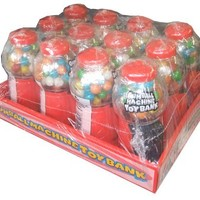 Ford Gum Gumball Machine Toy Bank Novelty Candy (Pack of 12)