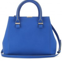 QUINCY LEATHER TOTE
