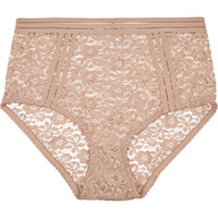 Lonely - Agnes stretch-lace high-rise briefs