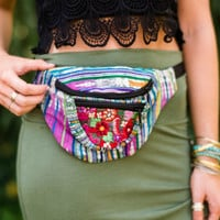 Embroidered Fanny Pack