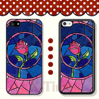 Beauty and the beast, iPhone 5 case iPhone 5c case iPhone 5s case iPhone 4 case iPhone 4s case, Samsung Galaxy S3 \S4 Case --X50027