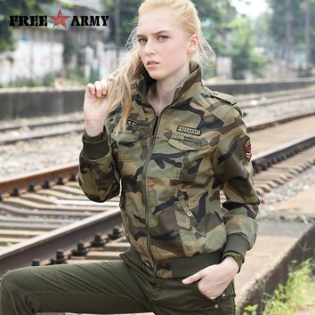 Jackets Women New Spring Jacket Female Camouflage Female Hoodie Fall Jackets For Women Coat Jacket Ladies