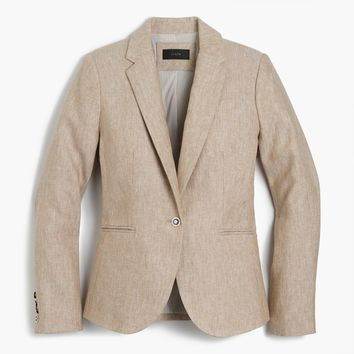 Campbell blazer in linen : Women campbell | J.Crew