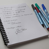 Wipebook Mini Reusable Whiteboard Notebook Dry Erase Correctable Bound Magic