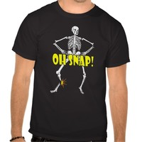 Oh Snap Halloween Funny Skeleton Costume
