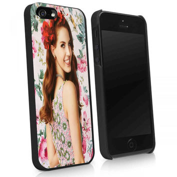 Lana Del Rey pose iphone 4/4s, iphone 5/5s/5c, note 2, note 3, ipod touch 5, samsung galaxy s3 and samsung s4 case