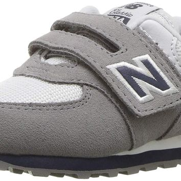 New Balance Kids' 574v1 Essential Hook and Loop Sneaker