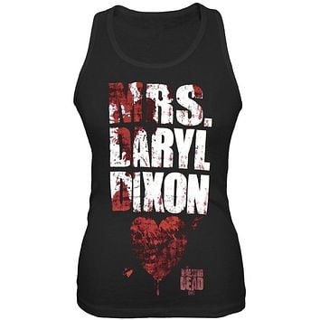 Walking Dead - Mrs. Daryl Dixon Juniors Tank Top
