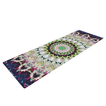 "Iris Lehnhardt ""Summer of Folklore"" Pink Navy Yoga Mat"