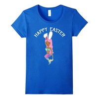 Easter Mermaid With Bunny Ears T-Shirt