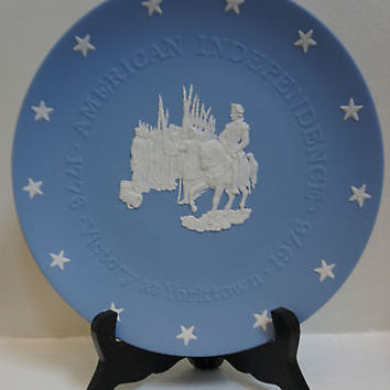 Wedgwood Fine China Limited Edition Bicentennial Plate Victory at Yorktown