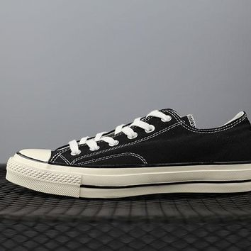 converse 1970s 144757c fashion canvas flats sneakers sport shoes black
