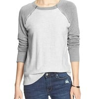 Banana Republic Womens Factory Zipper Seam Sweater